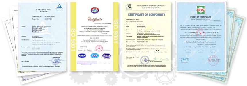 DENAIR-Certificates