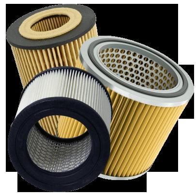 El daño de baja calidad filtro de aire